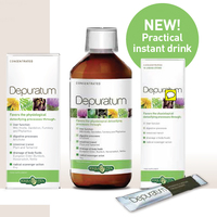 Depuratum To Eliminate Toxins Natural Detoxifying Action