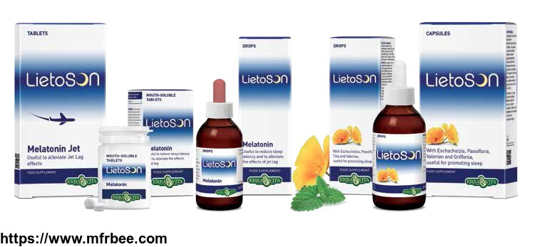 Lietson for Good Sleep From Plant Extracts and Melatonin