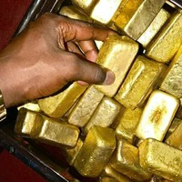 Au gold bars,gold nugget,gold dust and rough uncut diamonds