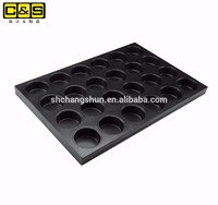 Custom Silicon Coating Non-stick Al Steel Bread Muffin Pastry Pan Factory Direct