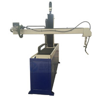 4 axis automatic welding machine for cable ladder