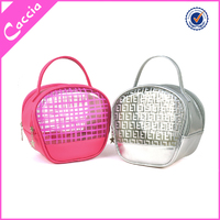 Transparent Clear Waterproof Custom Packaging Promotional PVC Cosmetic Bag For Lady