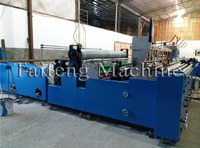 Automatic rewinding and perforating paper machine