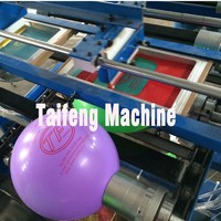 Advertising balloon printing machine