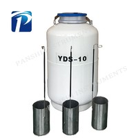 YDS-10 Stainless Steel Tank Liquid Nitrogen Tank For Transportation Cryocooler