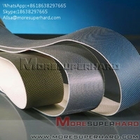 more images of Flexible Diamond Belts Diamond sand belt for polishing and grinding Alisa@moresuperhard.com