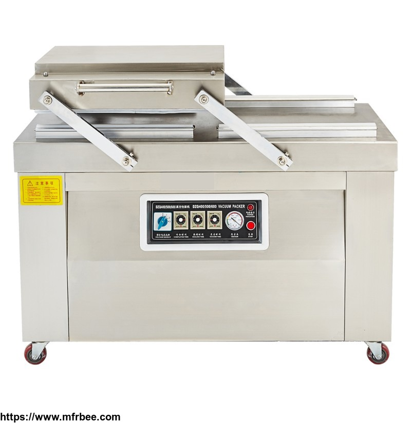 Double Chamber Vacuum Packing Machine Model DZD-2SA (flat plate) -iseef.com
