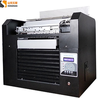 more images of Honzhan HZ-UVA3-6C Digital UV Led Flatbed Printer 28*60cm With 6 inks colors