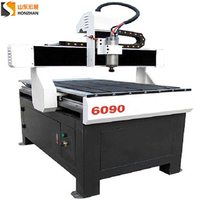 more images of Honzhan HZ-R6090 Advertising Wood Acrylic CNC Router Carving Machine 600*900mm