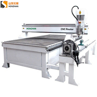 Honzhan HZ-R1325 4 Axis CNC Router with Rotary Device