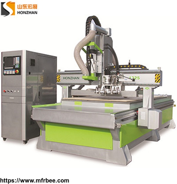 Honzhan HZ-ATC1325B Automatic Tool Changer Woodworking CNC Router for Making Furniture Door