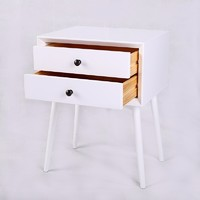 more images of Europe Style Wood Nightstand Designs MDF Bedside Table