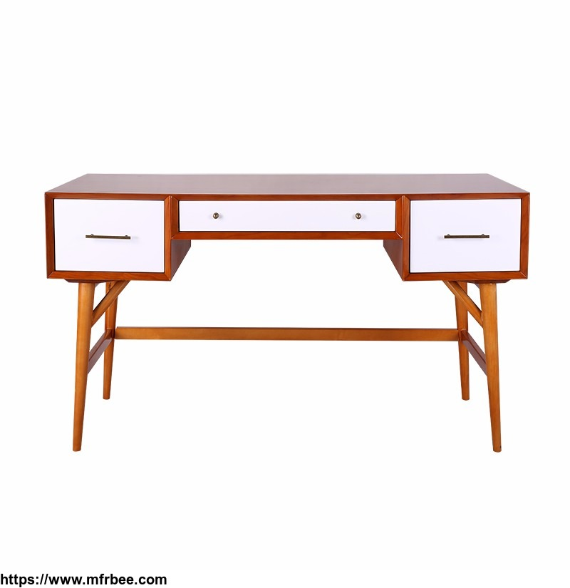 china_supply_custom_white_furniture_mdf_and_solid_wood_home_writing_desk