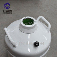 ZPX CE certified high quality Lab/Medical portable liquid nitrogen storage tank 15L