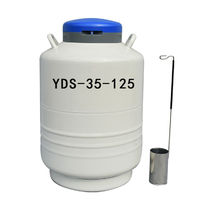 more images of Storage type 35L small liquid nitrogen container with cylinder