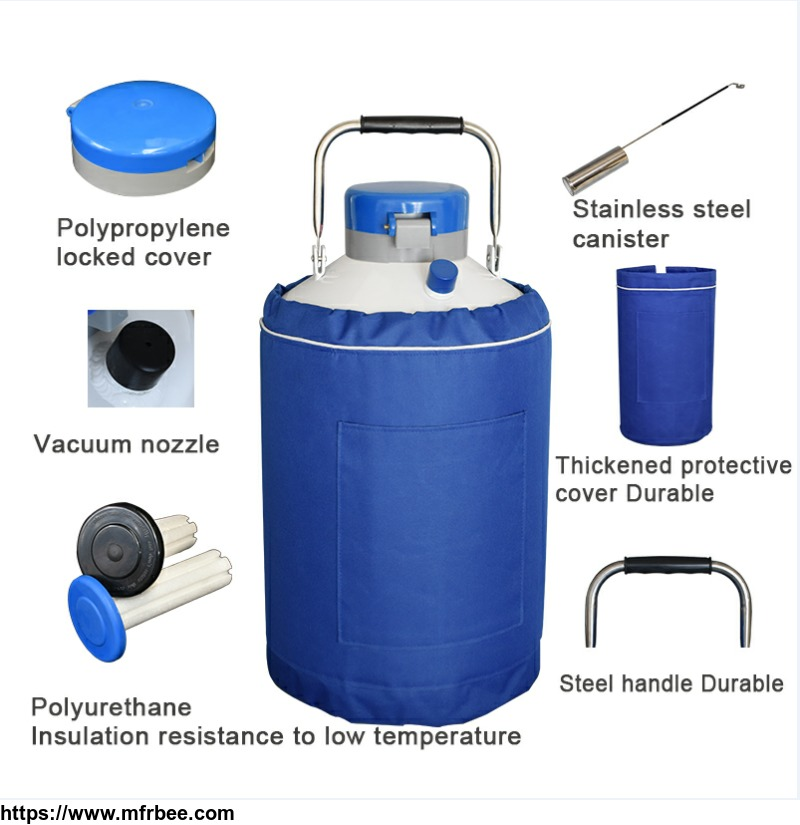 High Quality Cryogenic Liquid Nitrogen Tank/Container With Good Price