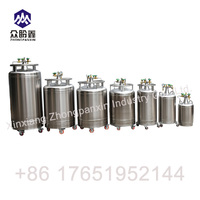 Self-pressurization transportable liquid nitrogen tank for lab