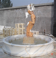 Outdoor Marble Stone Fountain