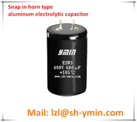 YMIN Horn Type Aluminum Electrolytic Capacitor 47000uf for Low Voltage Inverter