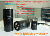 UPS Large Screw Terminal Type Aluminum Electrolytic Capacitor Bolt type