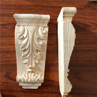 Rubber Wood Carving Corbels for furniture Decoration