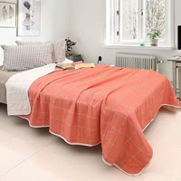 six tier Egypt cotton blanket grid stripe pure colour man woman kids washable