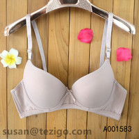 Fashion Bra Set Lace Trim Printed