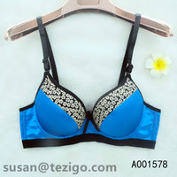 Fancy Bra Mesh Cover Gather Type Wire