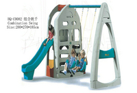 HQ-C0082 Combination Swing educational toy kid baby child wooden plastic