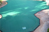 High quality HDPE with UV swimming pool safety net/cover net/pool shade sail