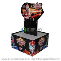 Toy Display Stands, Cardboard POP Display Stands For Toy Promotion