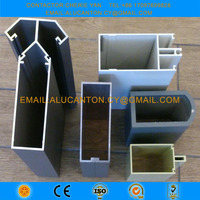 Aluminum curtain wall  extrusion profile - Curtain wall system manufacturer