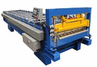Steet Metal Roof Panel Roll Forming Machine