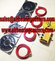 Air bearing movers is safe and cost effectiove when moving