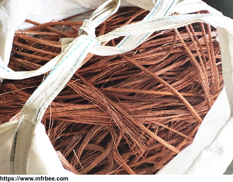 99.99% high purity scrap metal, copper wire scrap with cheap price