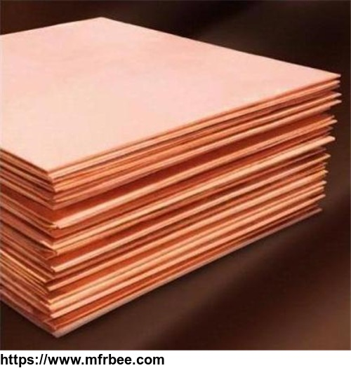 manufacture of copper cathodes, copper plate, copper sheet metal for sales