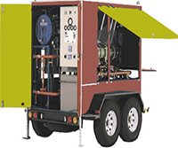 Mobile Vacuum Transformer Oil Purifier Machine