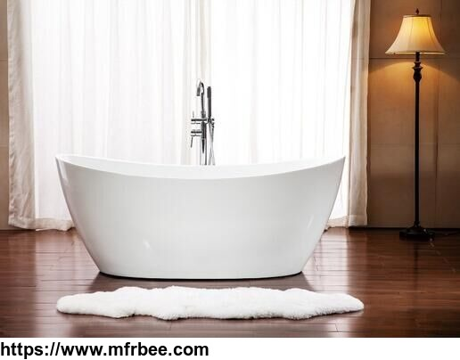 Free Standing Acrylic Bathtub with Cheap Price