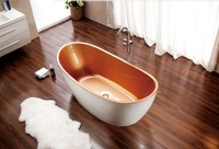 more images of Free Standing Acrylic Bathtub with Cheap Price