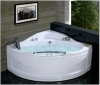Corner Acrylic Massage Bathtub with Cheap Price