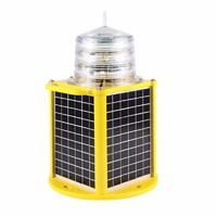 self- contain 350 light characters solar marine navigation light for ship/vessel/island