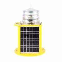 ICAO standard solar Medium Intensity aviation obstruction light