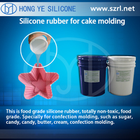 HY Liquid Food Grade Platinum Cure Silicone Rubber Food Mold Manufacturing
