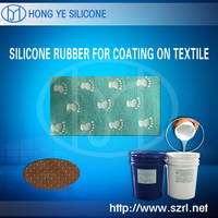 HY RTV Liquid Coating Textile Screen Printing Silicone Rubber