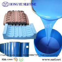 Tin cure liquid silicone rubber for car tire mold making