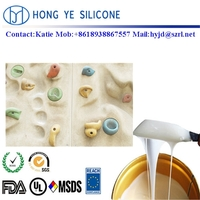 Liquid silicone rubber for climbing artificial stone molds making