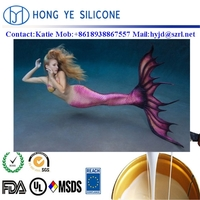 Strong simulation effect silicone mermaid tails