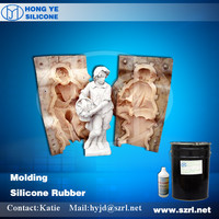 RTV Liquid silicone rubber for cement garden mould making