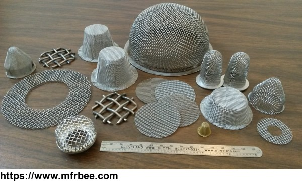 stable dimension 100% monitoring formed wire mesh disc for filter elements