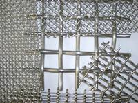 firm and  durable stainless and mild steel crimped wire mesh for industry